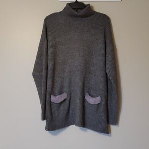NWT August silk knit sweater